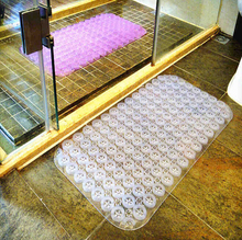 Anti Slip Shower Mat PVC Massage suckers Non Slip Safety Tube Home ss287(China)