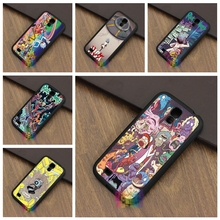 Rick And Morty Pokemon case cover for samsung galaxy S3 S4 S5 S6 S6 edge S7 S7 edge Note 3 Note 4 Note 5 #AL320