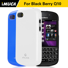iMUCA Case cover for blackberry q10 case soft tpu cover for blackberry q10 3.1inch luxury silicone cases mobile phone bag