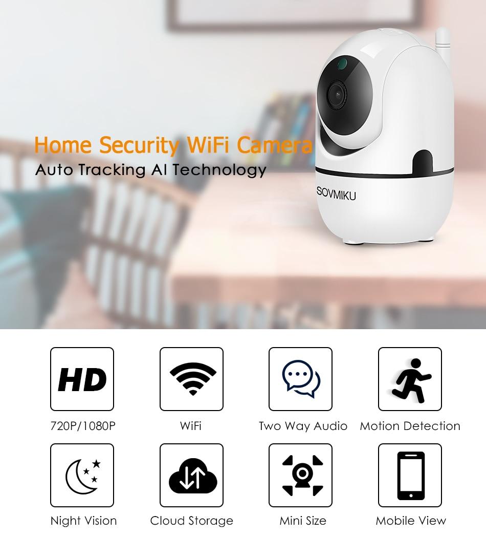 Wireless Auto Tracking WIFI Camera