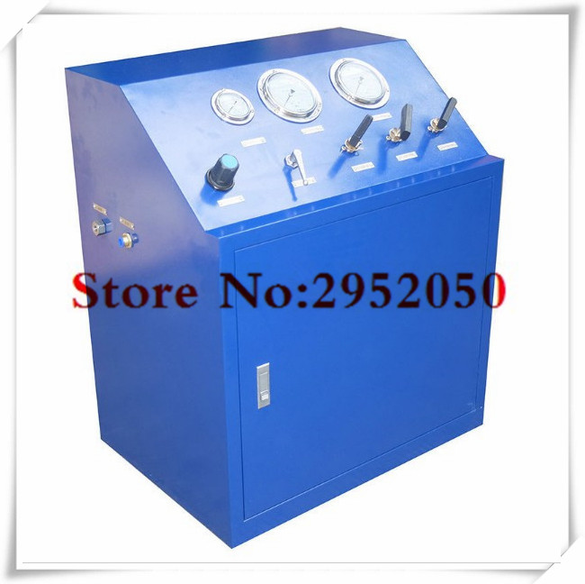 Free shipping by DHL 80 Mpa High pressure hydrogen/argon/helium gas booster system ,gas booster Unit for valve testing(China (Mainland))
