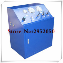 Free shipping by DHL 80 Mpa High pressure hydrogen/argon/helium gas booster system ,gas booster Unit for valve testing(China)