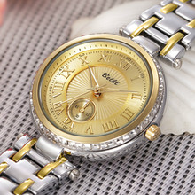 Quality Manufacturers Direct BELBI Simple Womens Watches Quartz-watch Personality Stainless Steel Watch