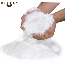 BITFLY 5/10PCS DIY Christmas Wedding party Decoration Fake Winter Super Magic Instant Snow Powder artificial White snowflake(China)