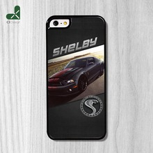 Cool Customized For iPhone 6 6s And 4 4s 5 5s 5c 6 Plus Cover Ford Mustang Shelby GT500 Phone Case