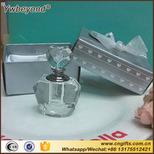 Wholesale 10pcs/lot Valentine day gifts Choice Crystal gifts Collection Crystal Perfume Bottle Wedding Souvenirs Guests