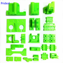 Prideal Colorful Reprap Prusa i3 Rework 3D Printer PLA Required PLA Plastic Parts Set Printed Parts Kit ,Prusa Mendel i3(China)