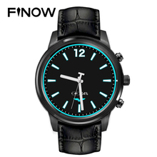 Top Sale Finow X5 plus X5 Air Smart Watch Android 5.1 MTK6580 Ram 2GB/Rom 16GB Amoled Watch PK KW88 LEM5/LES1 3G BT Phonewatch(China)