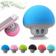 Wireless Mini Speaker Bluetooth Portable Mushroom Bluetooth Speaker Waterproof Loudspeaker Receiver For Xiaomi iPhone 7 Music