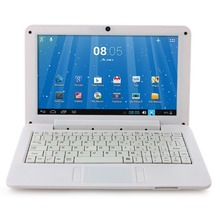 Free Shipping New Notebook 9.0 Inch Dual Core VIA WM8880 Android 4.2 4GB White  With Russian Keybaord