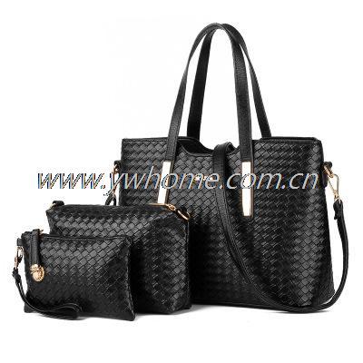 2017 New 3 PCS Set Women Leather Satchel Handbag Shoulder Messenger Crossbody Bag<br><br>Aliexpress