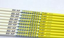 New Golf shaft TOUR AD 65-II Golf Clubs  Iron group  shaft  10pcs/lot Graphite Golf  shaft R or S or SR flex Free shipping