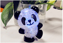 3D Crystal Puzzle Jigsaw Model Diy Panda Intellectual Toy Gift Furnish Gadget Children's Educational Toys Christmas Gift #1JT