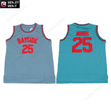 Beast Beat Movie Basketball Jerseys #25 Bayside Morris Throwback Jerseys Wholesale S-XXXL Special Style Sports Shirts