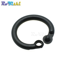14.5mm Plastic Safety Loose Leaf Hinge Snap O Ring for Key Chain Backpack