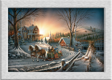 Terry Redlin Pleasures_of_Winter oil painting HD canvas printing art Giclee home decoration murals holiday gift no frame(China)