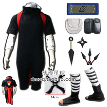Naruto Sasuke Uchiha Cosplay Costume Full Set