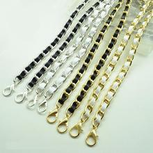 Hight quality leather handle purse strap bag hardware handbag chain bag parts bag strap chain bag chain belt(China)