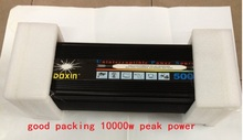 5KW 5000W DC 24v to AC 220v or DC 12v to AC 220v modified wave UPS Power Inverter+battery charging function
