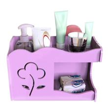 Toothbrush Racket Holder Soap Storage Rack Jewelry Cosmetic Organizer Kitchen Holder Box Bathroom Products With Hooks