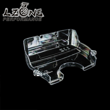LZONE RACING - NEW racing clear pulley cover/timing belt cover/cam cover for TOYOTA SUPRA 1JZ JR6336