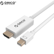 ORICO MPH 6.6Ft / 2 M Mini DisplayPort (Thunderbolt) to HDMI Adapter for Mac Book, iMac, Mac Book Air, Mac Book Pro & More.(China)