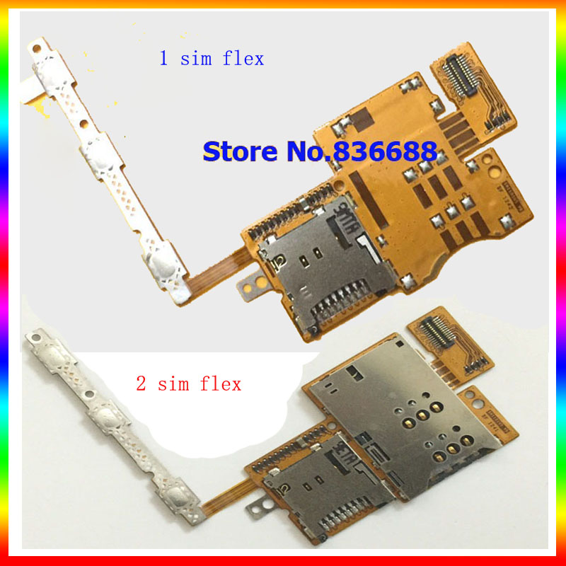 New 10-101 4G version Dual Single Sim Slot Tray Card Holder Flex Cable For Huawei Mediapad 10 FHD S10-101 3G version Sim Flex(China (Mainland))