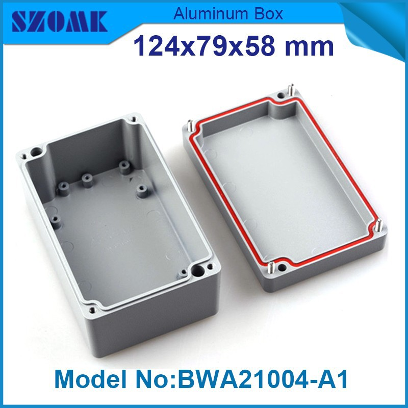 4 pcs/lot weatherproof boxes aluminum material fit pcb size 50.7X69X106MM underwater electrical junction box<br><br>Aliexpress