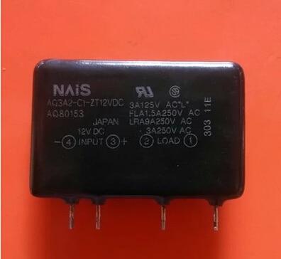 HOTNEW AQ3A2-C1-ZT12VDC AQ80153 AQ3A2 ZT12VDC 12VDC DC12V NAIS ZIP4<br>