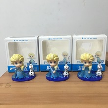 action figure Unique Gifts high quality Sweet Cute Girls Toys Princess Anna and Elsa Doll Pelucia Boneca Disny Princesa Juguetes
