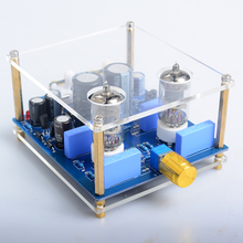 NEW K.GUSS 6J1 tube preamp board tube amplifier audio amplificador Voltage: AC12V-0-AC12V (15W)(China)