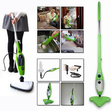 Family 10 in 1 Steam Mop Steam Cleaner Floor Carpet Vapor Sweeper Steamer Express Ship Vacuum Cleaners(China)