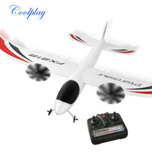 Coolplay FX-818 RC Airplane RC Glider Airplane Model 2 Channel Radio Controlled EPP Material Airplane Educational Gift Toys