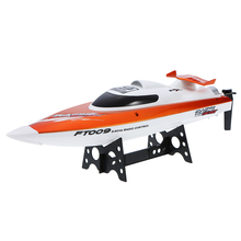 Original FT009 2.4G 4CH Water Cooling System Self-righting 30km/h High Speed 360 Degree Flips Racing RC Boat