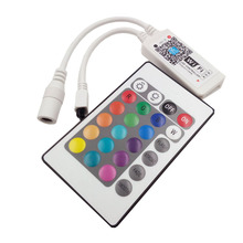 smd rgb led strip light 24k wifi contrroller dc12v wifi remote controller 24k Wifi led controller music and timer mode