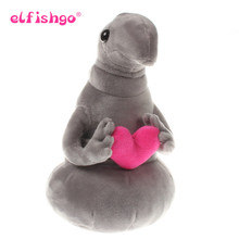 Hot Waiting Plush Toy Zhdun Meme Tubby Gray Blob Zhdun Hug Love Plush Doll Toys Homunculus Loxodontus 20cm/25cm/30cm