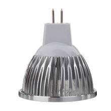 MR16 4W LED spotlight aluminum shell LED Bulb 4pcs high power 1W LED chip MR16 for low voltage with Kung