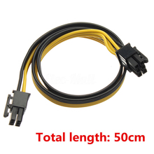 Buy Onsale 1pc 50CM PCI-E 6Pin 6Pin Power Cable 18AWG Pure Copper DPS-1200FB Breakout Board Ethereum Mining for $1.40 in AliExpress store