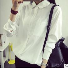 Cheap wholesale 2016 new Autumn Winter Hot selling women's fashion casual Ladies work wear YX1018 Girls sexy cute Shirt
