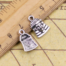 10pcs Charms egyptian king tut 16*11mm Tibetan Silver Plated Pendants Antique Jewelry Making DIY Handmade Craft
