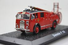 ATLAS 1: 72 Dennis F 12  the old fire truck alloy car models ambulance