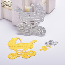 Buy Baby Carriage Metal Cutting Dies Stencils Scrapbooking/Photo Album Decorative Embossing Folder DIY Paper Card Crafts for $1.15 in AliExpress store