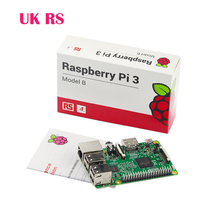 Original Raspberry Pi 3 Model B 1GB RAM Quad Core 1.2GHz 64bit CPU WiFi&Bluetooth New Version Ra pi 3 Made in UK Free Shipping