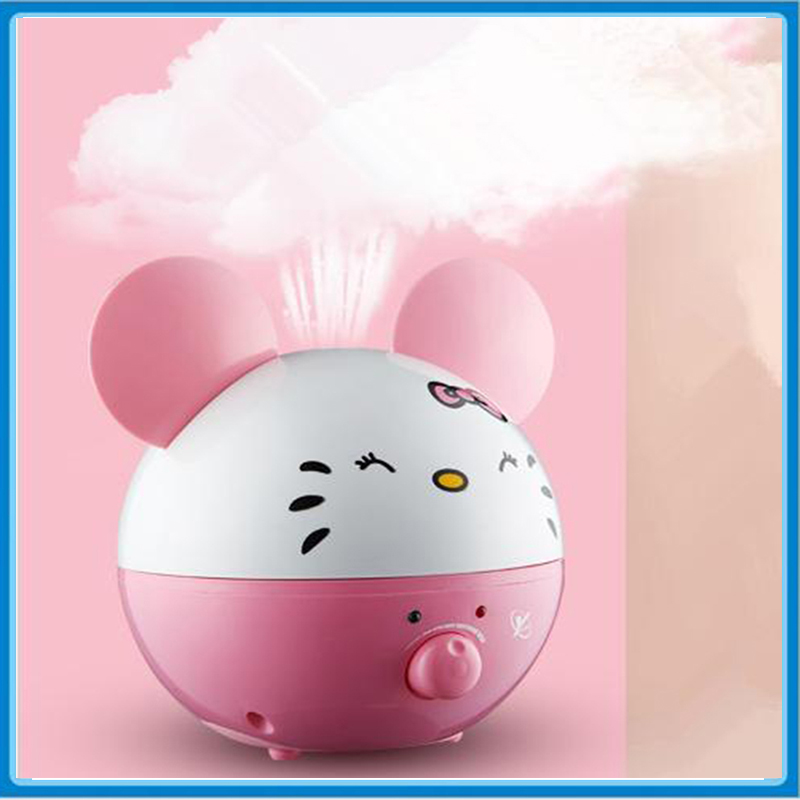 2L Panda Shape Ultrasonic Air humidifier Essential Oil Aroma Diffuser for Home &amp; Office 220V Mist Maker Fogger<br>