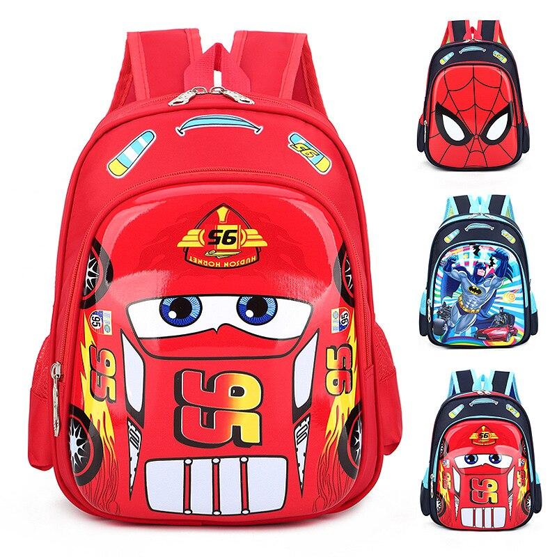 New 3D Car Shaped Bag Children School Bag Toddlers Boy Backpack Kids Toys Gift
