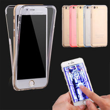 Ultrathin Clear Transparent TPU Silicone Flexible Soft Cover Case For iPhone X 8 6 6s 7 Plus 5 5S SE Full Protect Phone Case