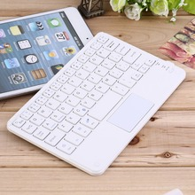 7 inch Universal Android Windows Tablet Wireless Bluetooth keyboard with Touchpad For Samsung Tab Microsoft