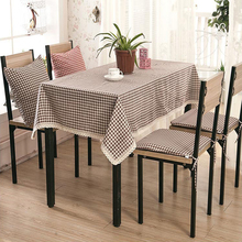 USPIRIT Table Cloth Fresh Style High Quality Lace Tablecloth Decorative Elegant Table Cloth Linen Table Cover HH1530