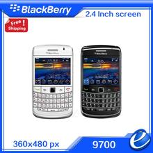 9700 Refurbished Original Unlocked Blackberry Bold 9700 Wifi GPS 3.0MP+QWERTY Valid PIN+IMEI 3G Phone free shipping