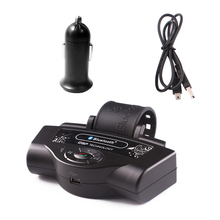 2017 Portable Wireless Steering Wheel Handsfree Auto Bluetooth Receiver Car Kits Hands Free For Huawei Samsung Speakerphone(China)